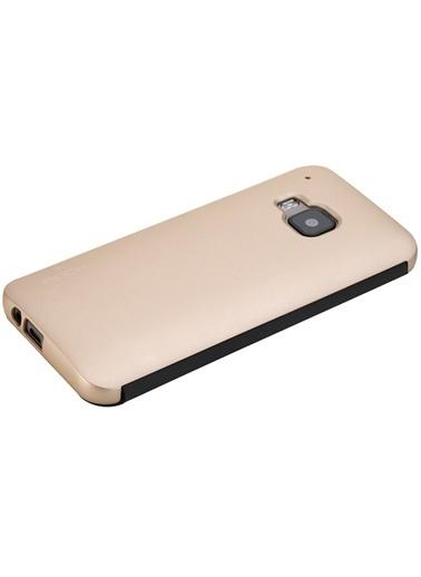 DR.V HTC One M9 invisible Smart UI Transparent Kılıf -Rock